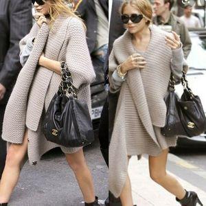Authentic Chanel Lambskin Olsen Small Shoulder Bag